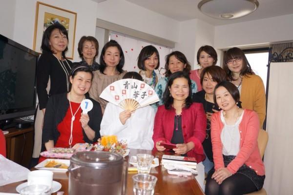 林香都恵さん主宰「開運ランチ会」にゲスト出席しました